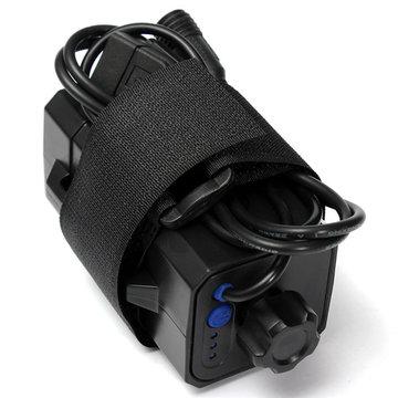 4x18650 Batterijen-etui voor buiten Waterdichte hoes voor fietslamp