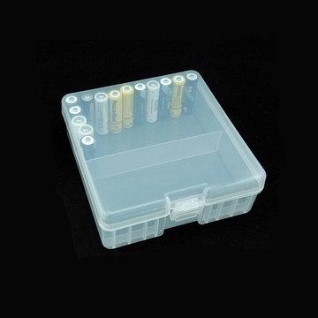Powerlion PL-5100 AA Batterijopslag Clear Case Box