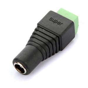 10x 2.1 x 5.5mm DC Power Female Plug Jack Adapter Connector Socket f CCTV Camera